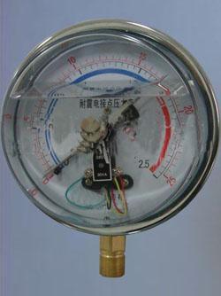 耐震电接点压力表