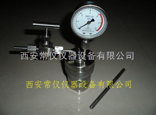 表显水热合成反应釜