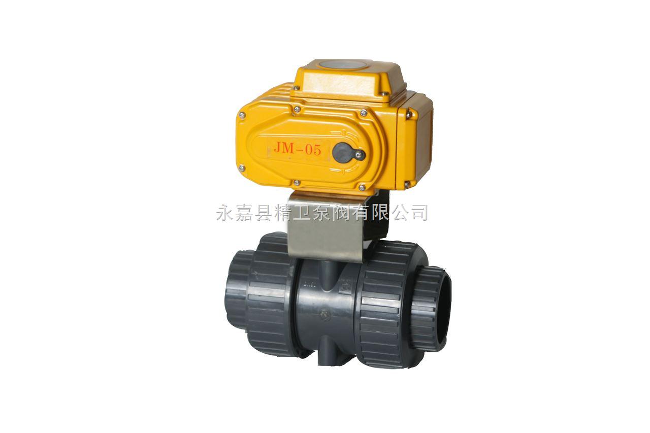 Q911S电动PVC球阀