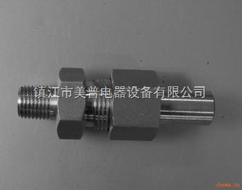 焊接式直通终端锥管接头