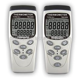 泰玛斯 TM80N/TM-82N K/J型单雙輸入溫度表  数字温度表
