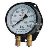 上海自动化仪表四厂YZS-102双针压力表