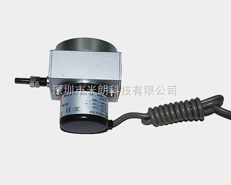 深圳厂家供应米朗MIRAN高精密脉冲方波输出型拉绳位移传感器 编码器