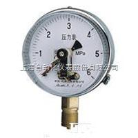 上海自动化仪表四厂YXGG-103-F隔离式磁助电接点压力表