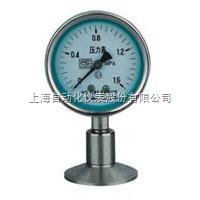 上海自动化仪表四厂Y-100BF/Z/MC卫生型隔膜压力表