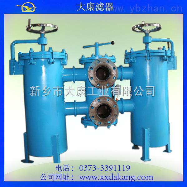 【厂家直销】规格任意定制 双筒微型直回式回油过滤器