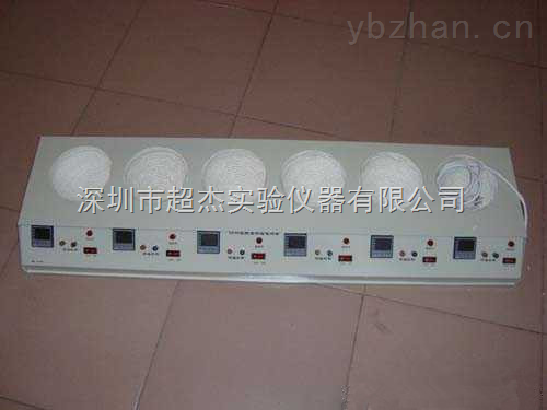 供應深圳\東莞\惠州六聯數顯電熱套供應商 智能電熱套 大容量電熱套價格