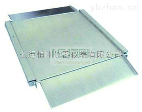 SCS-松江2吨不锈钢电子地磅秤价格