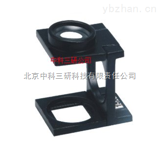 MK65-WYSZ-15X-15倍三折式放大鏡(金屬框雙鏡片)