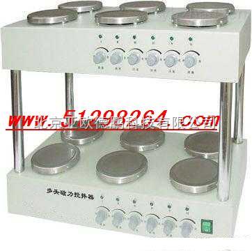 DP-JB-12-雙層多頭磁力攪拌器 雙層攪拌器 多功能攪拌器