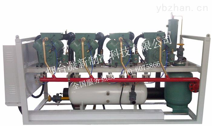 四并联高温活塞冷凝机组/活塞并联机组/活塞制冷机组/冷库机组