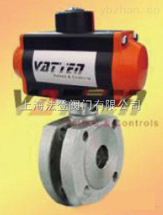 VT2HDF33A-德国进口气动对夹薄型球阀