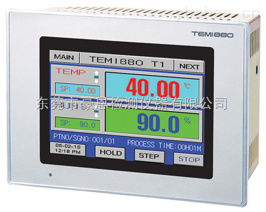 TEMI880触摸屏温湿度控制器