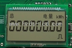 IC卡电表LCD液晶显示屏