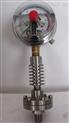 耐震磁助式電接點隔膜壓力表