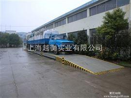 上海scs系列槽钢电子汽车衡双秤台