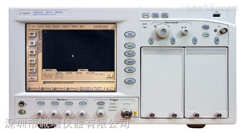 "86108B 精密波形分析仪 品 牌:Agilent | 安捷伦 产品信息: 主要特性和功能 通过出色的仪器性能获得更大裕量:高带宽(50 GHz 或 35 GHz)接收机、超低剩余抖动(< 50 fs 典型值);可调节时钟恢复峰值和环路带宽 灵活的仪器配置可以缩短开发时间。仪器配有集成的时钟恢复(50 Mb/s 至 32 Gb/s 数据速率)、集成的传感器,以及相位匹配电缆。这种电缆适用于简单的一次连接""无触发""操作 运用抖动频谱分析和软件时钟恢复仿真等分析工具加速分析,缩"