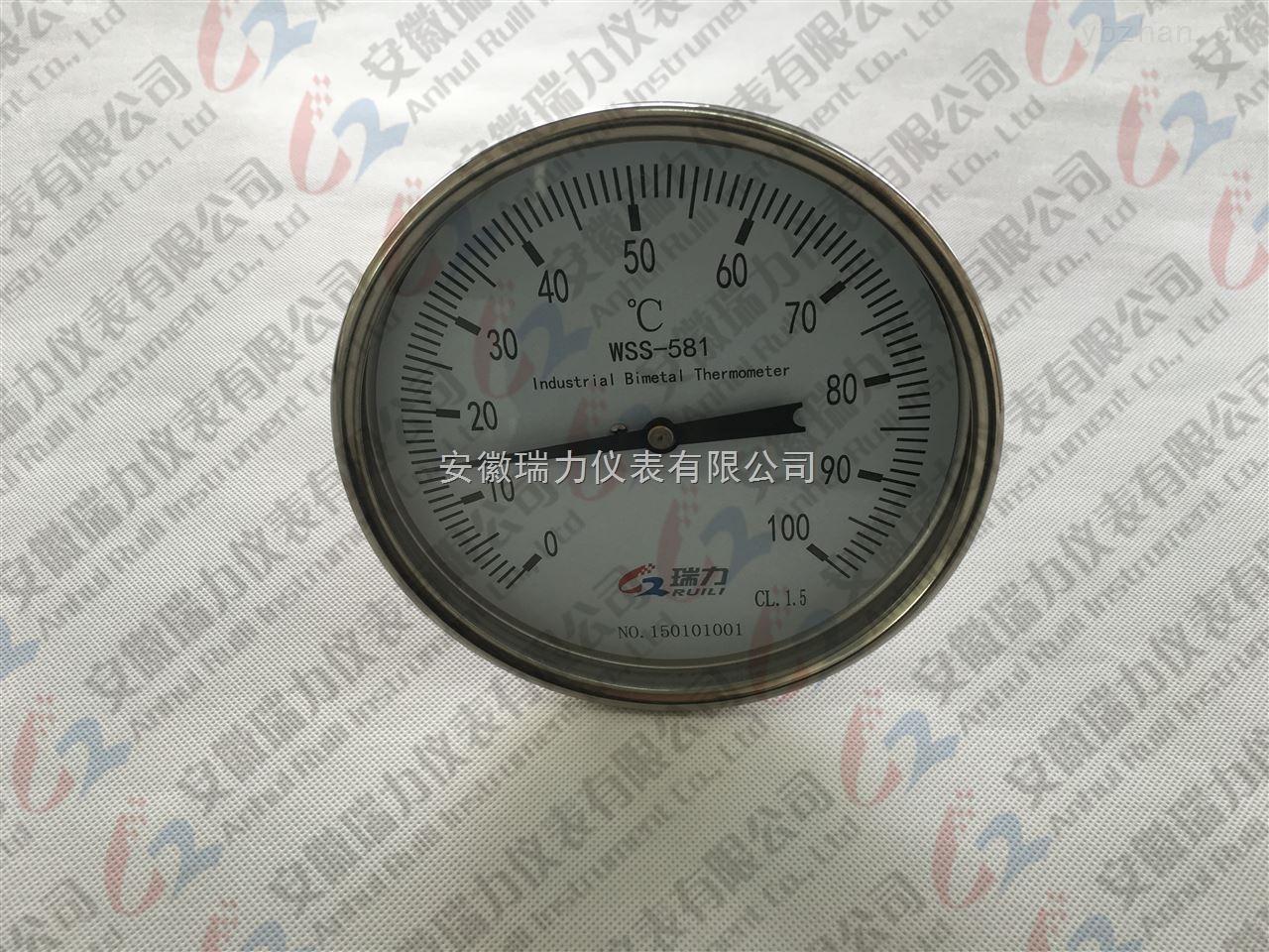 仪表的诱惑 双金属温度计WSS-581 精心定制 努力为您改变自己