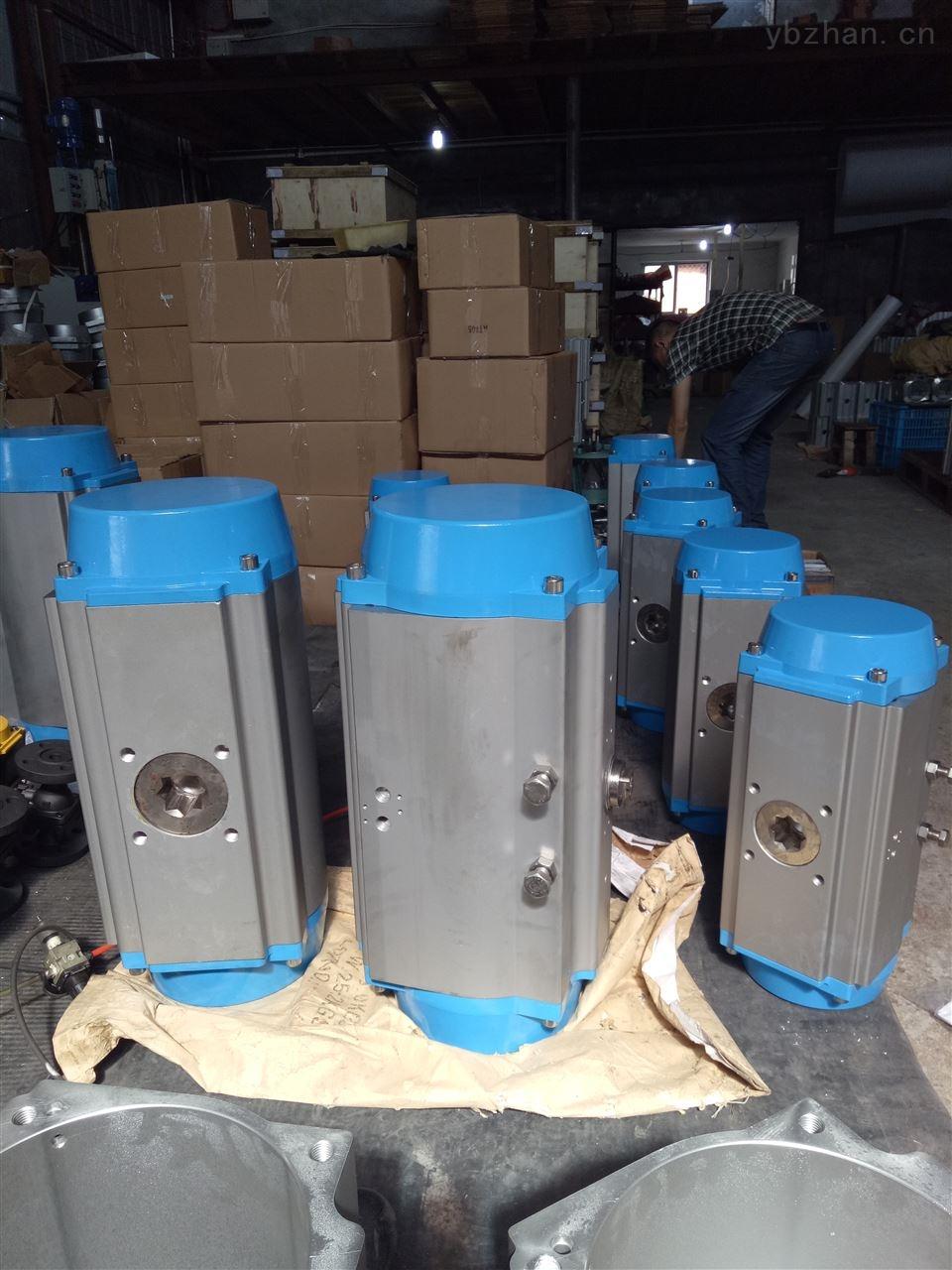AT-活塞式氣動法蘭執行機構 AT雙作用氣動閥門執行器