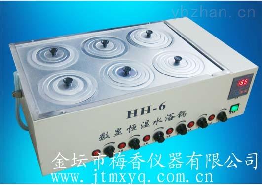 單獨控制智能型8孔不銹鋼水浴鍋磁力攪拌器