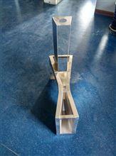 B=25玻璃钢巴歇尔流量槽,B76标准三号槽