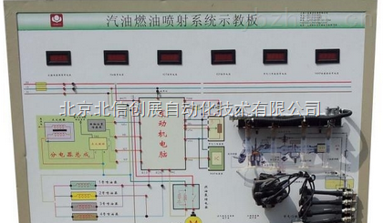 dl07-勇士bj2022-汽车电控燃油喷射实训台(小车)
