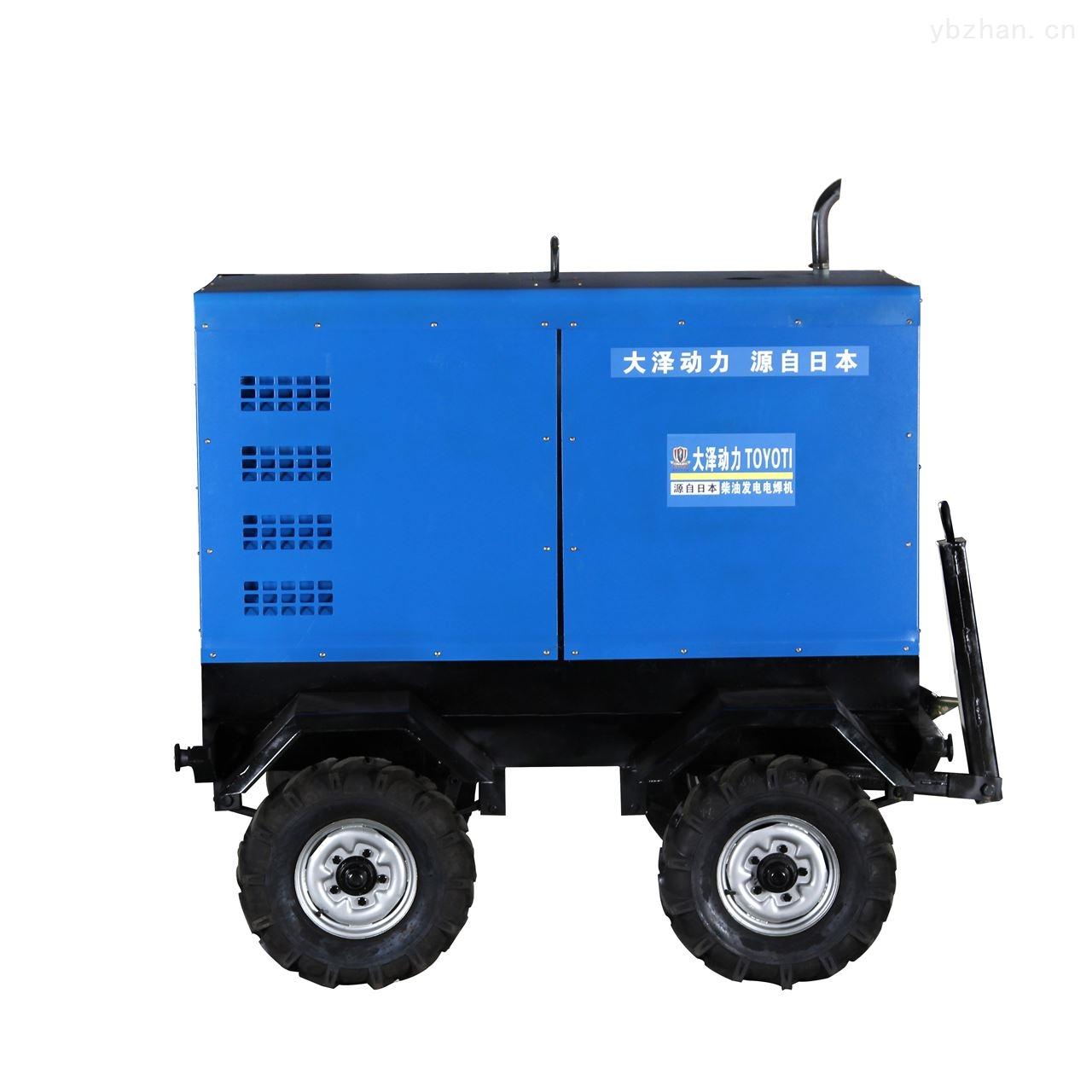 大功率车载式500A发电电焊一体机