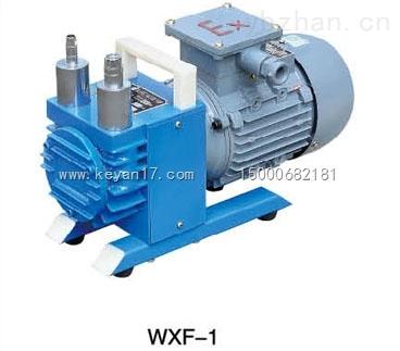 WXF-1防爆无油旋片式真空泵