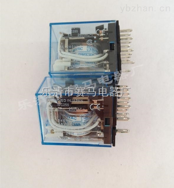 HH52P(欧姆龙MY2NJ)小型中间继电器