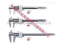 日本mitutoyo三丰标准型防水数显卡尺 进口 防冷却液卡尺500-712-10