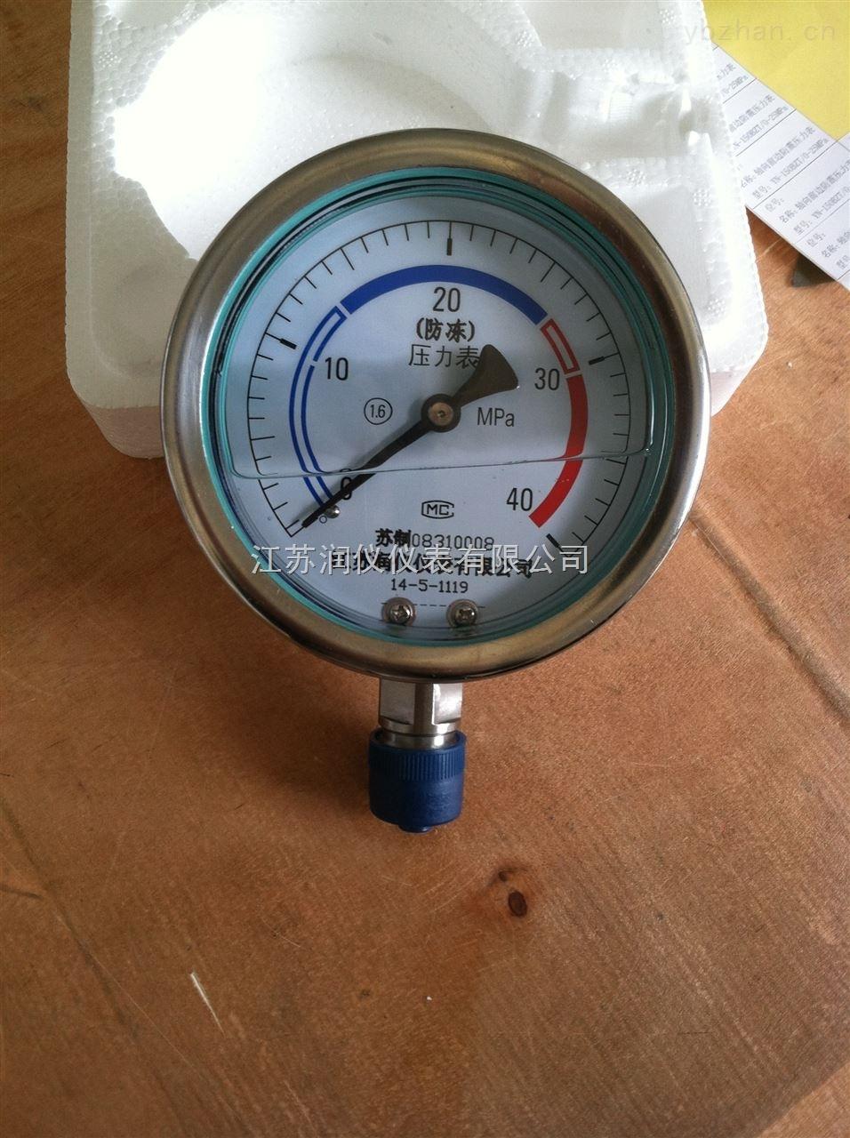 YN-100-径向耐震压力表