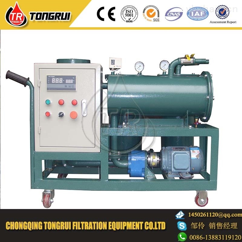 YL-R-30港口固定式小型加热润滑油电动过滤加油机