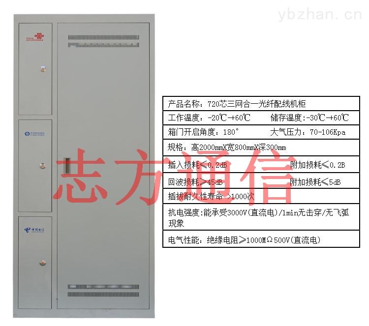 360芯三网合一光纤配线架/柜