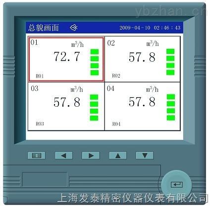 上海供应FT-R3100搅拌机报警无纸记录仪