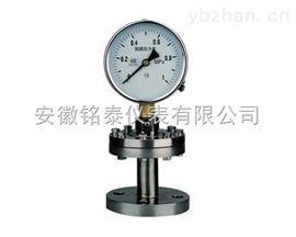 隔膜式不锈钢耐震压力表广泛应用