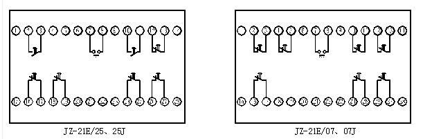 jz-21e/43断电延时继电器