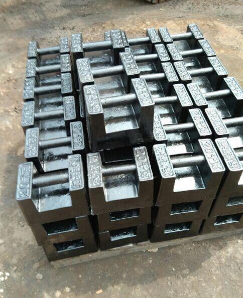 25kg砝码手提式,25公斤铸铁砝码,标准砝码价格