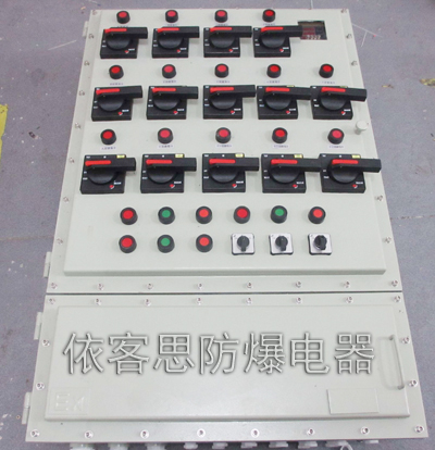 操作柱和防爆接线箱等组合